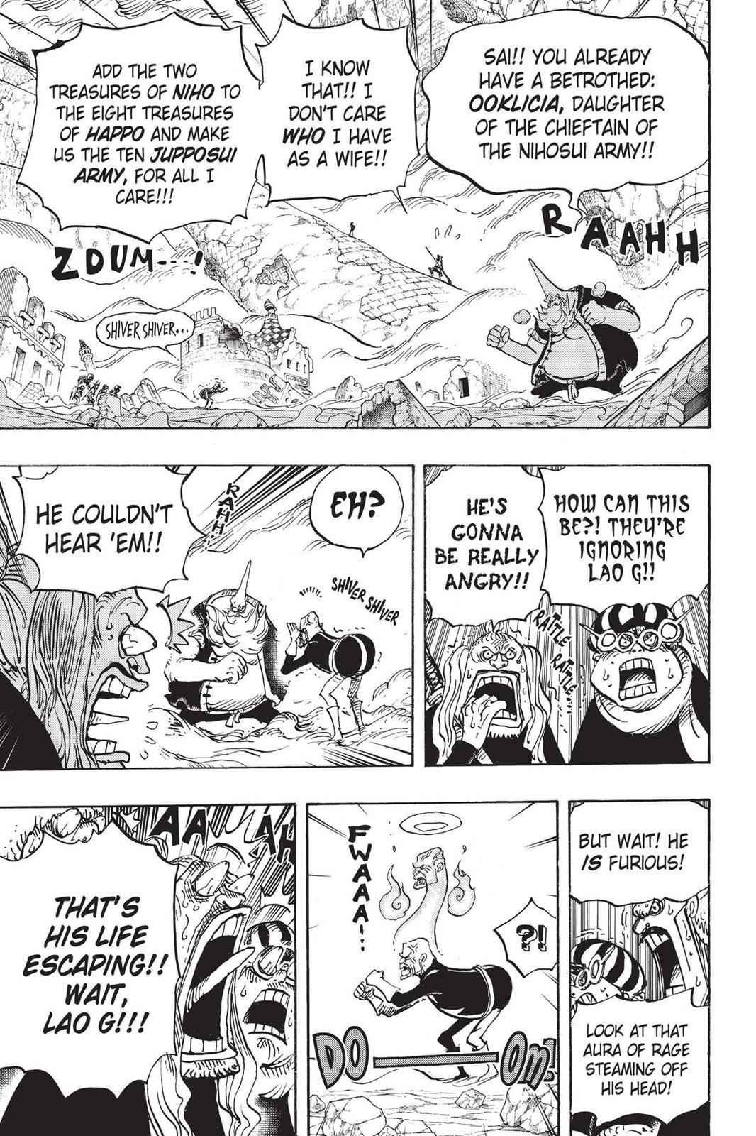 One Piece Chapter 771 Page 8