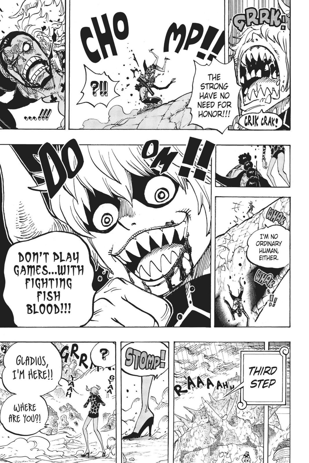 One Piece Chapter 772 Page 14