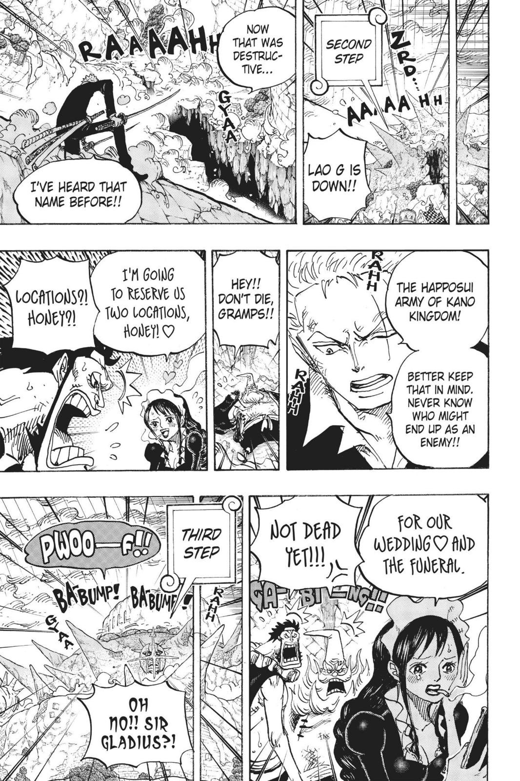 One Piece Chapter 772 Page 5
