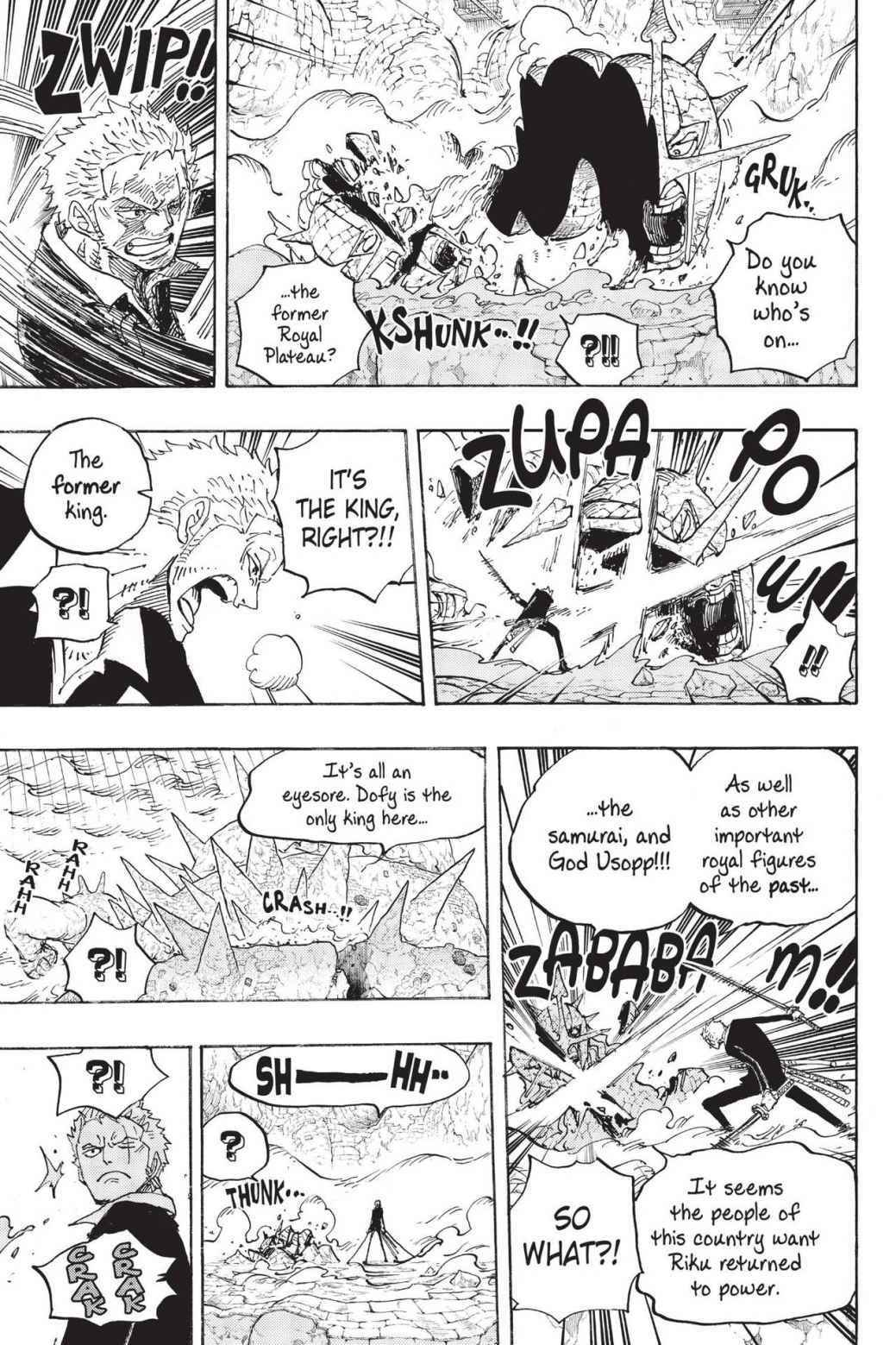 One Piece Chapter 777 Page 15