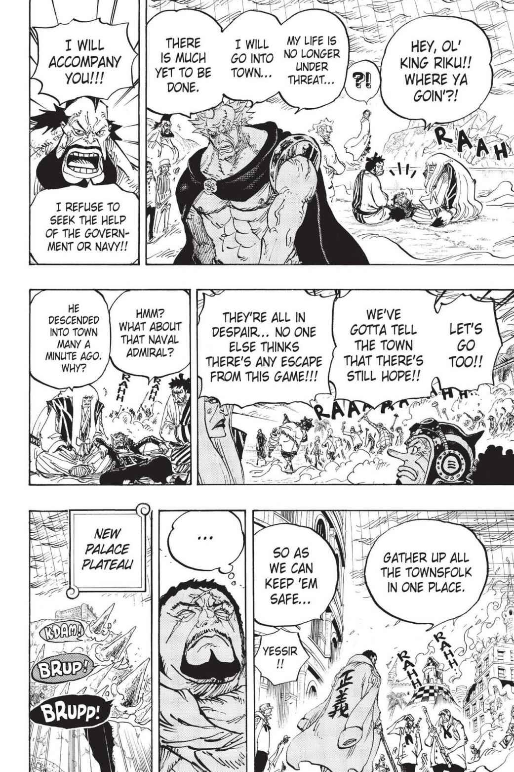 One Piece Chapter 777 Page 8