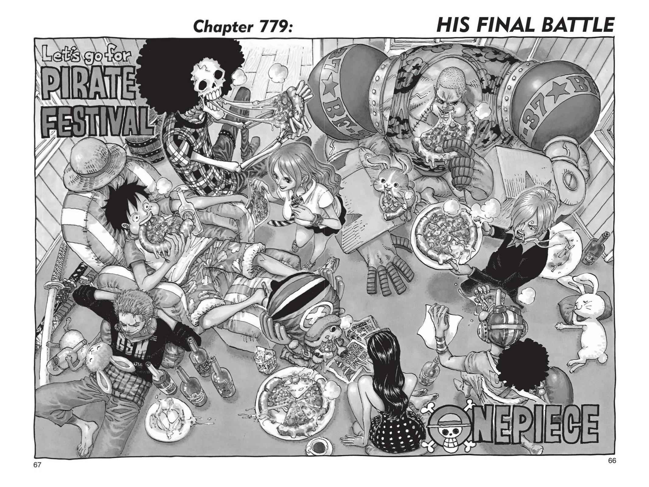 One Piece Chapter 779 Page 1