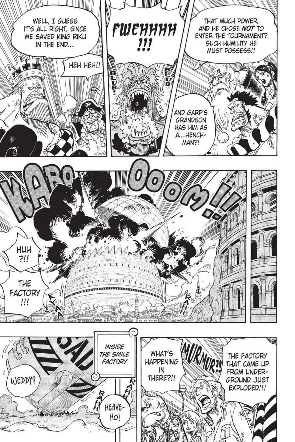 One Piece Chapter 779 Page 5
