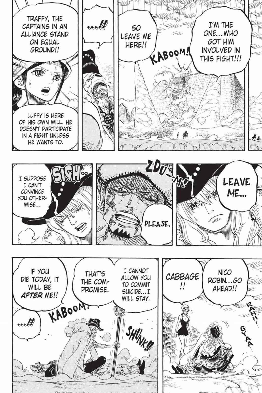 One Piece Chapter 783 Page 14