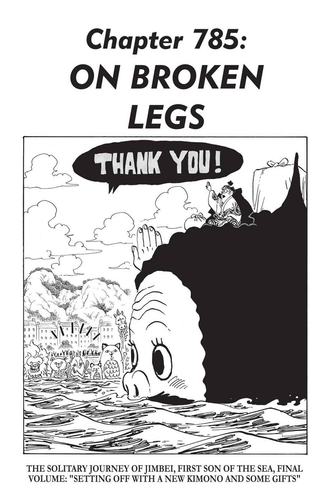 One Piece Chapter 785 Page 1