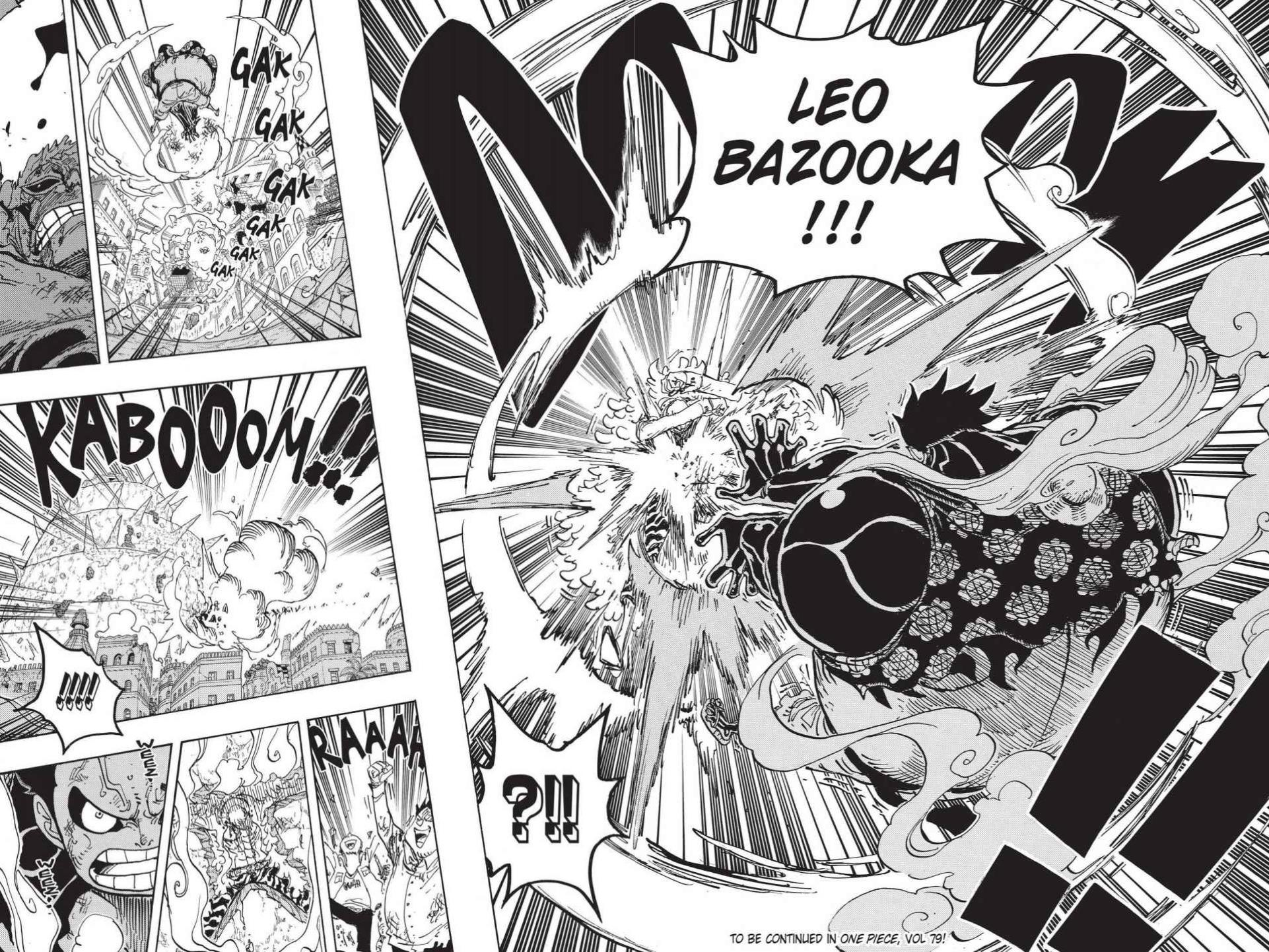 One Piece Chapter 785 Page 17