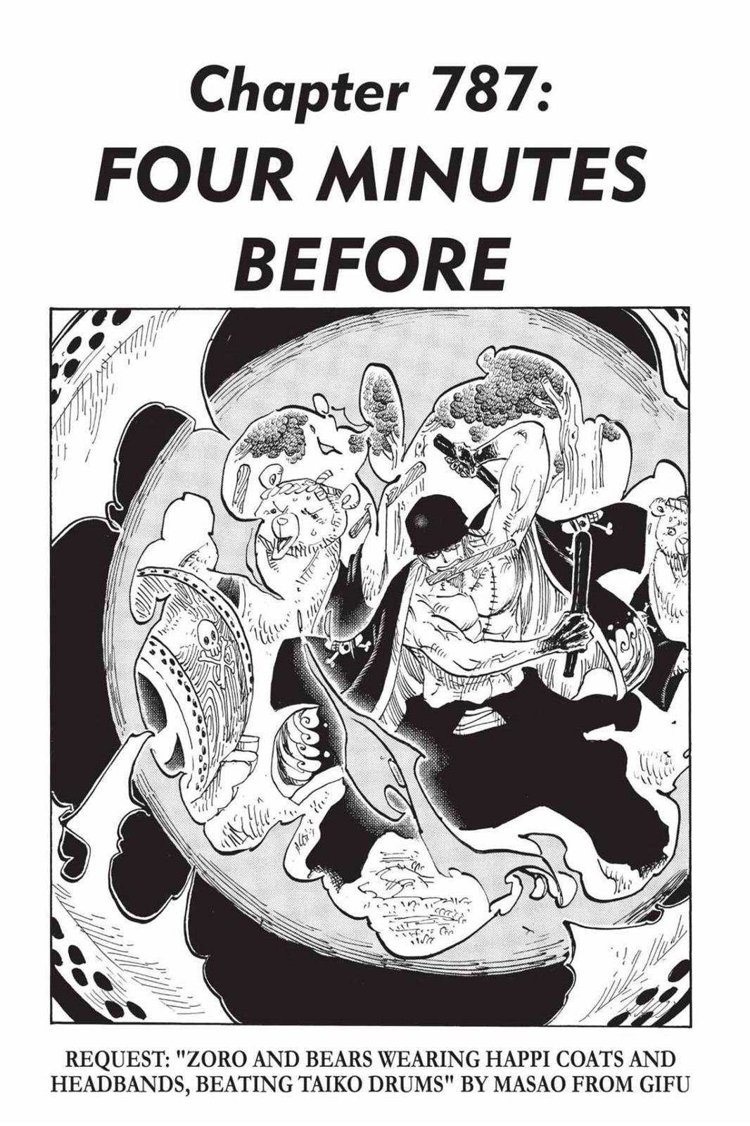 One Piece Chapter 787 Page 1