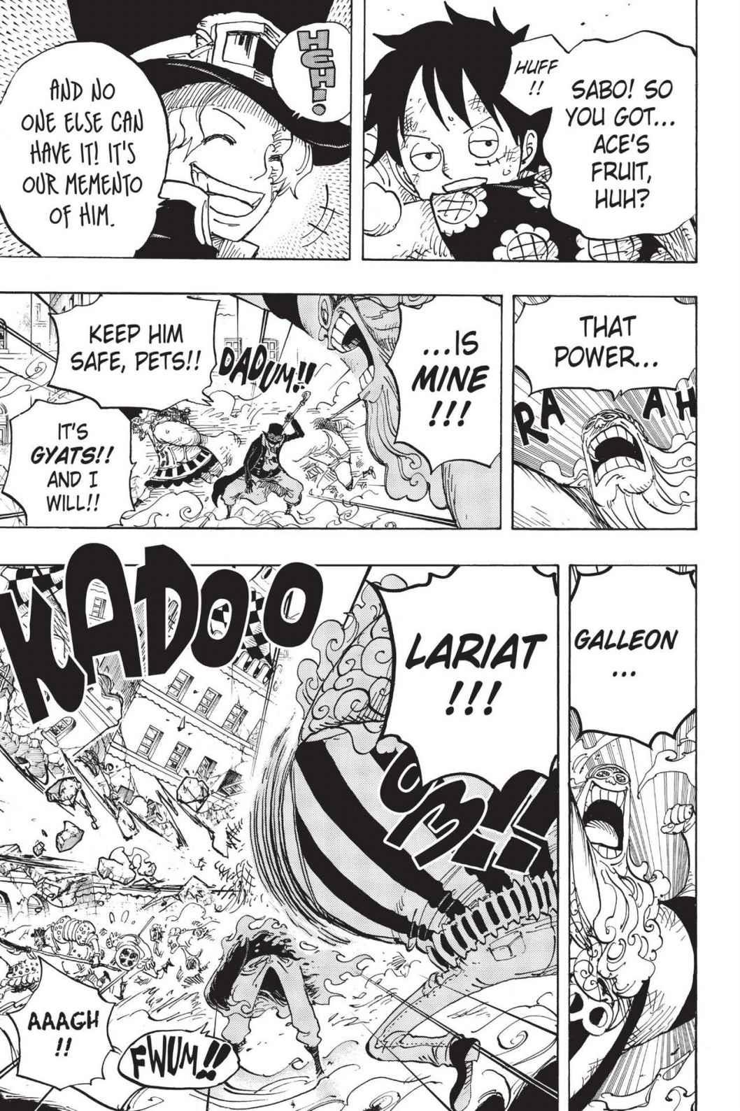 One Piece Chapter 787 Page 5