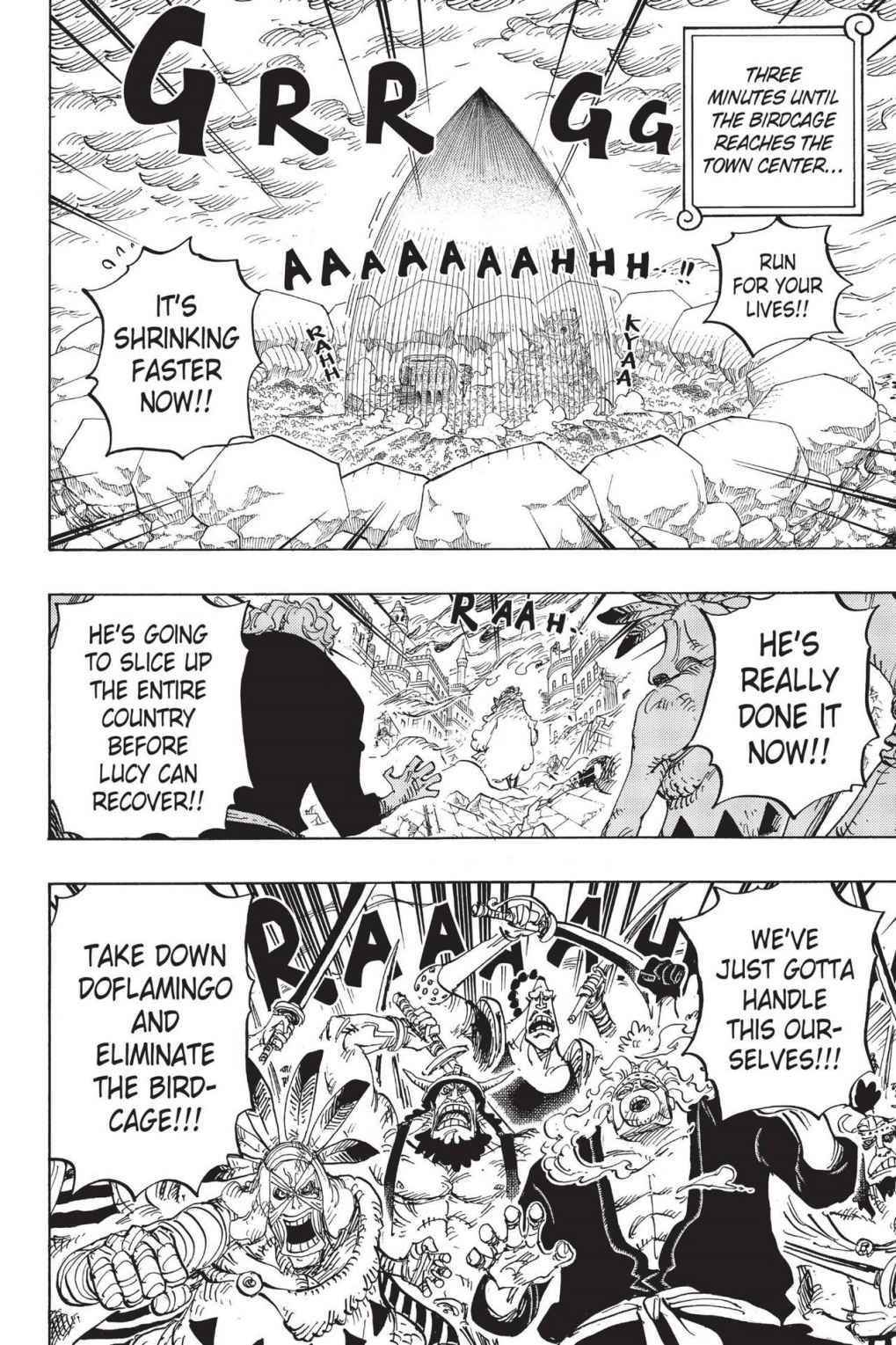 One Piece Chapter 788 Page 2