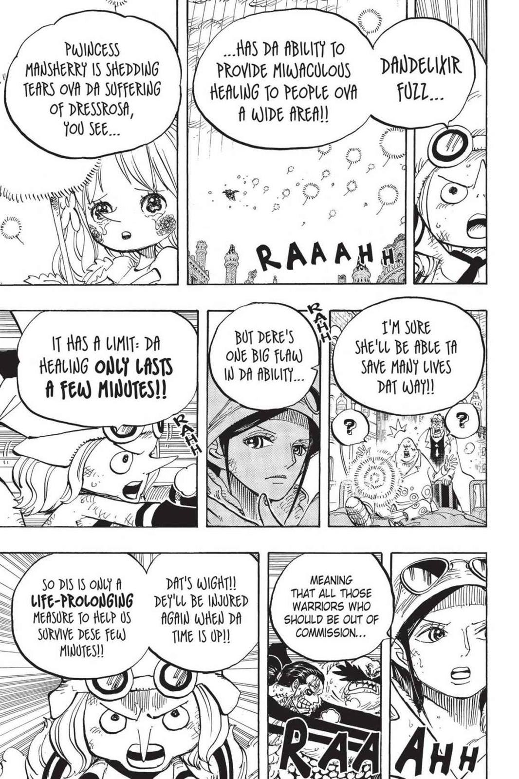 One Piece Chapter 788 Page 7