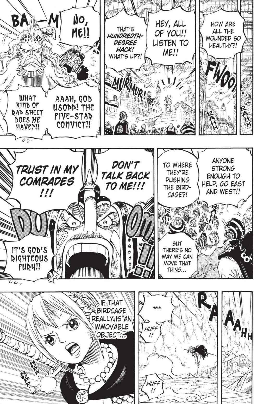 One Piece Chapter 788 Page 9