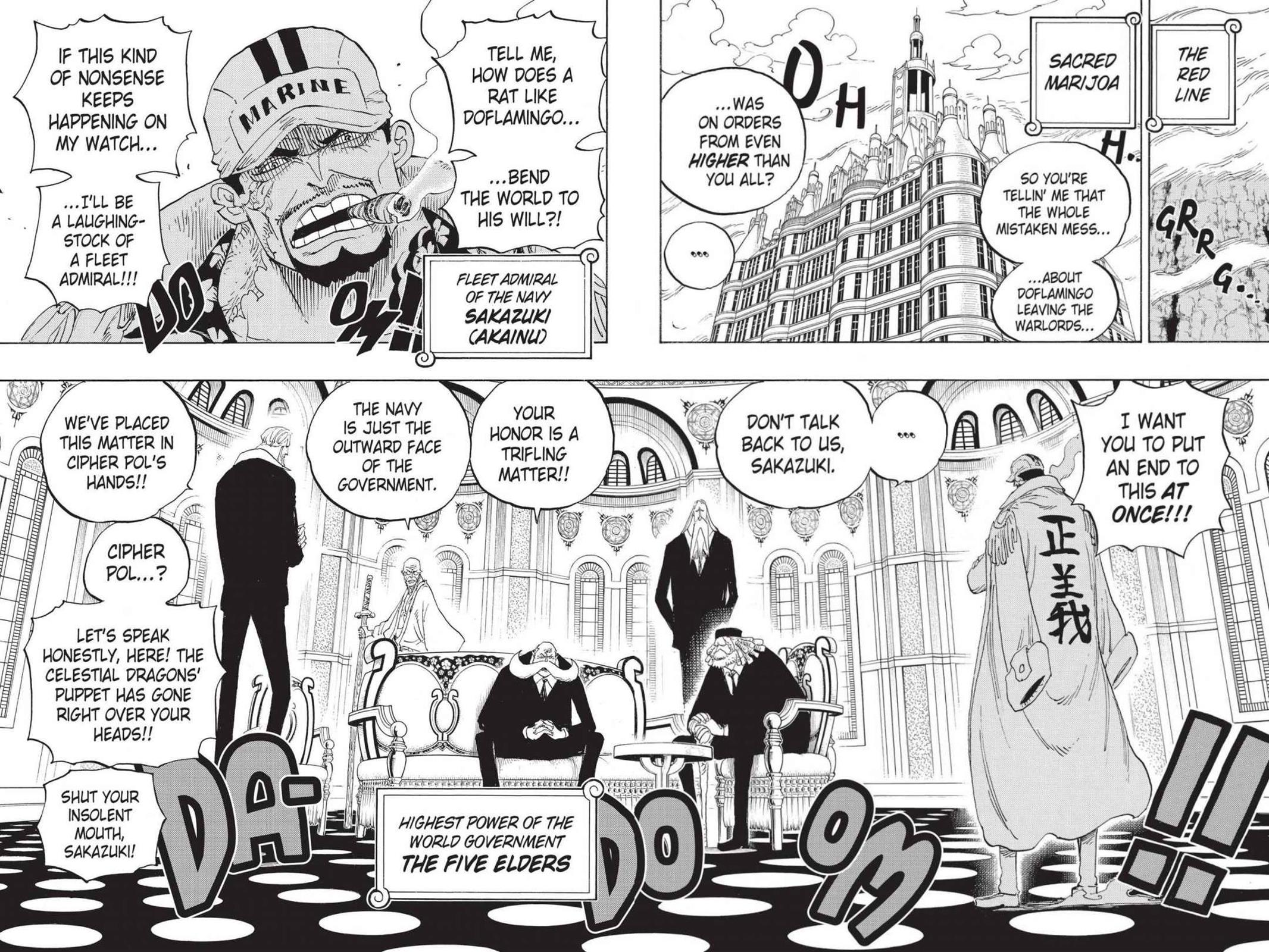 One Piece Chapter 793 Page 4