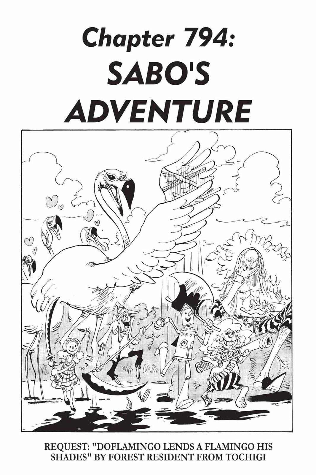 One Piece Chapter 794 Page 1