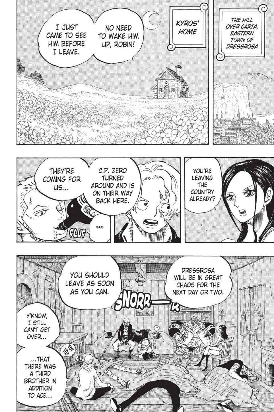 One Piece Chapter 794 Page 2