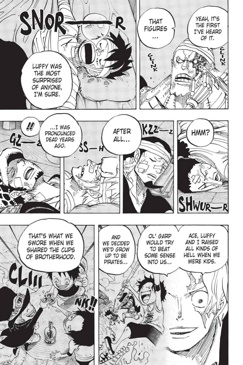 One Piece Chapter 794 Page 3