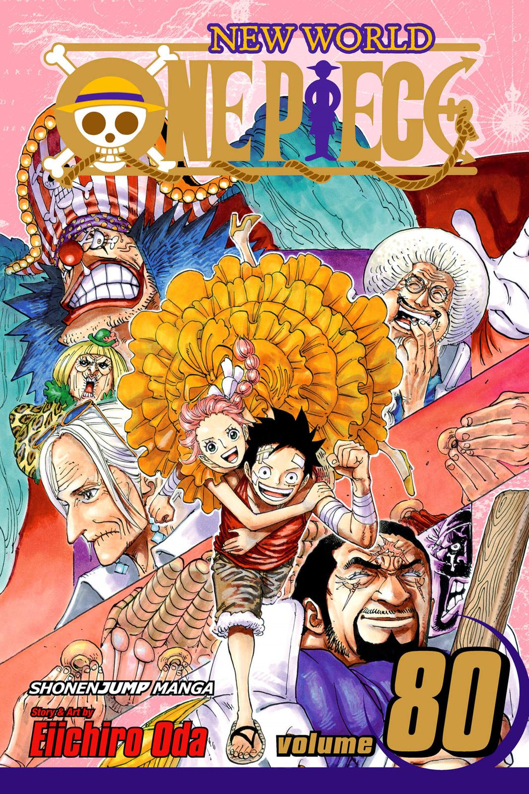 One Piece Chapter 796 Page 1