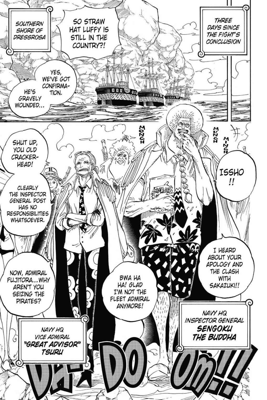 One Piece Chapter 796 Page 10
