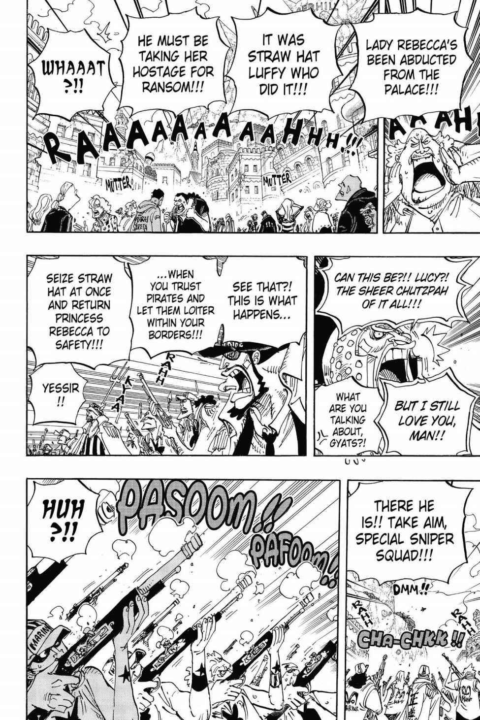 One Piece Chapter 797 Page 10