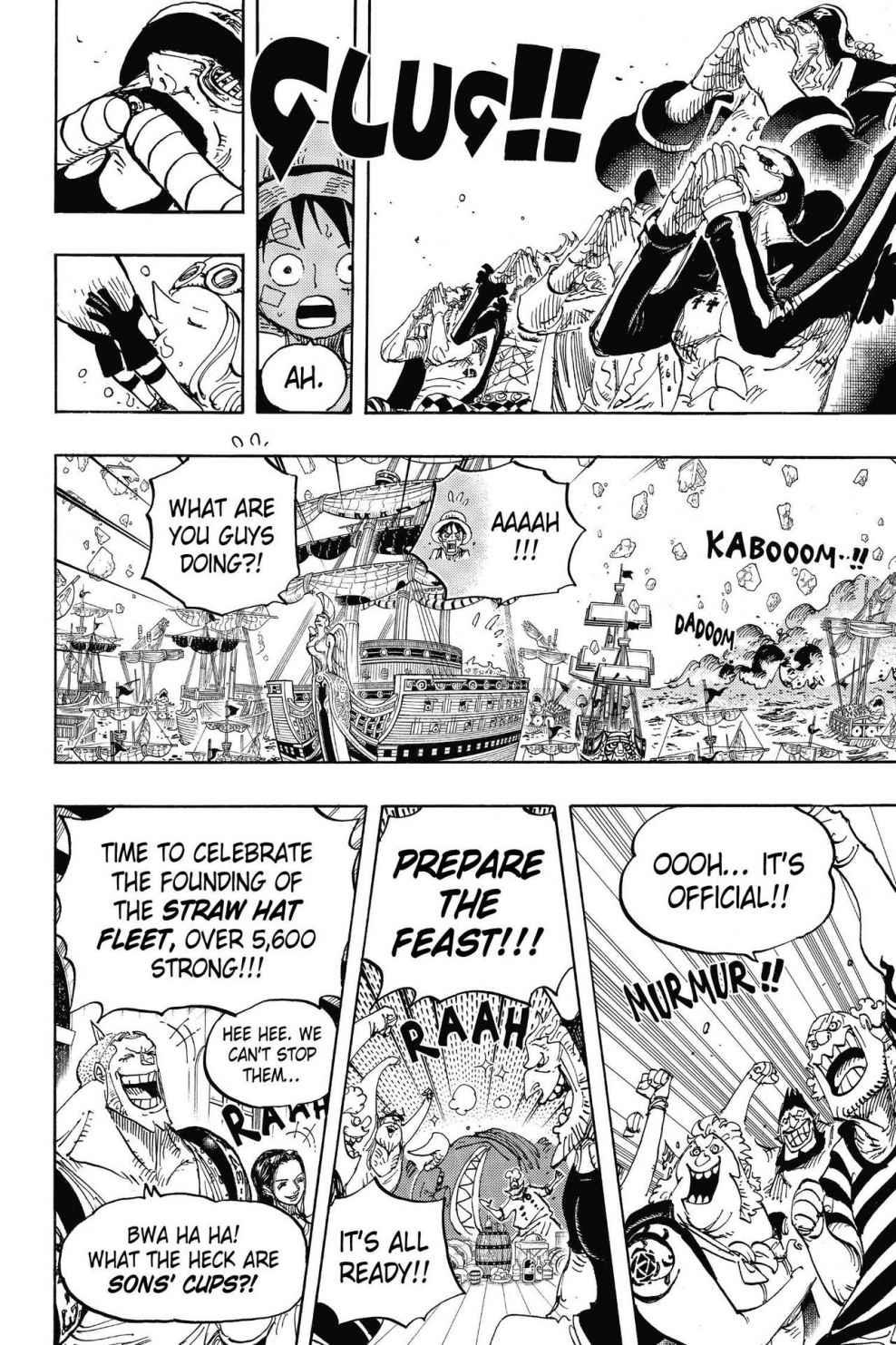 One Piece Chapter 800 Page 10