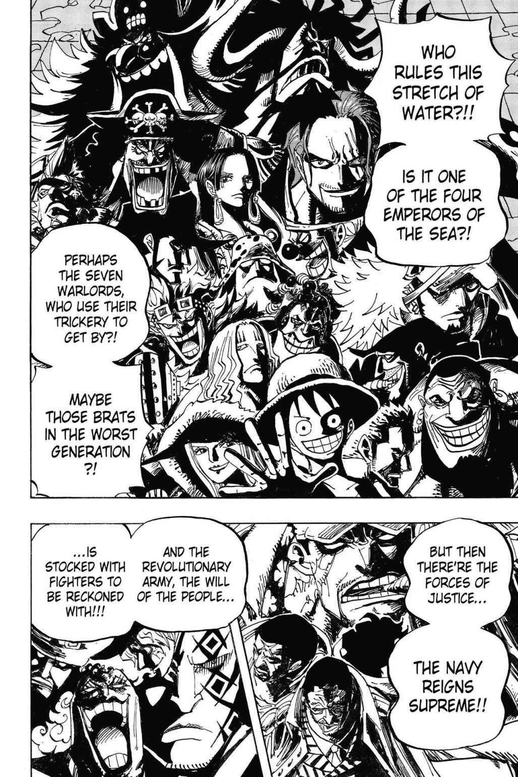 One Piece Chapter 801 Page 8
