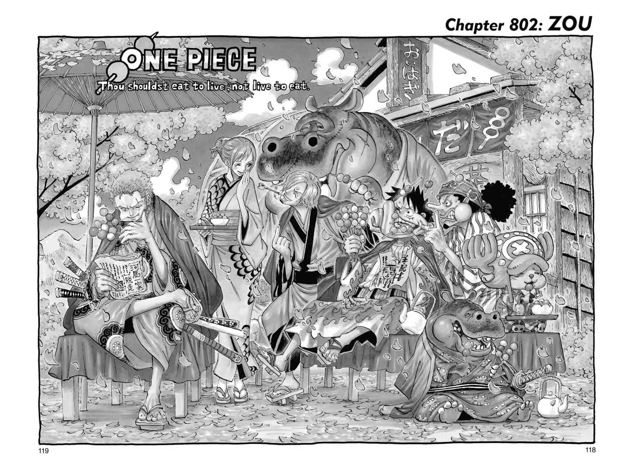 One Piece Chapter 802 Page 1