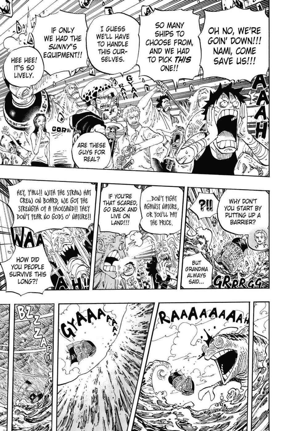 One Piece Chapter 802 Page 5