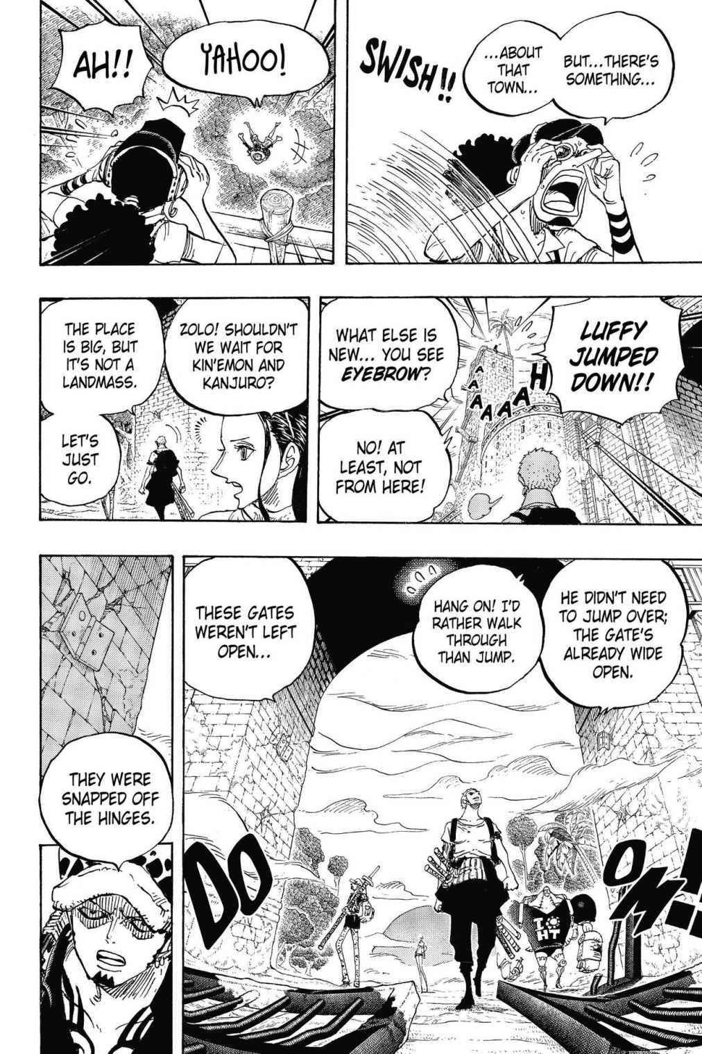 One Piece Chapter 804 Page 11