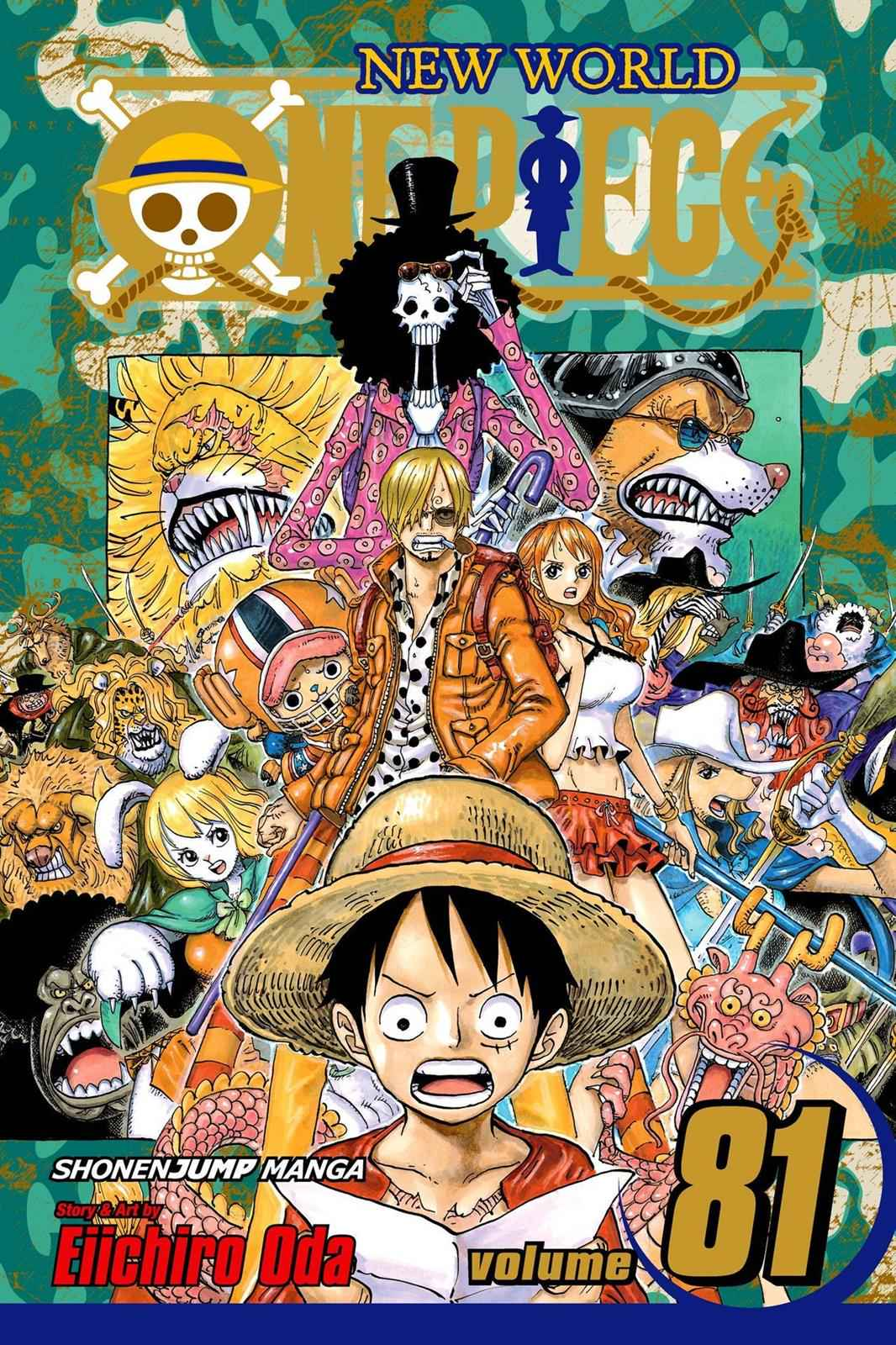 One Piece Chapter 807 Page 1