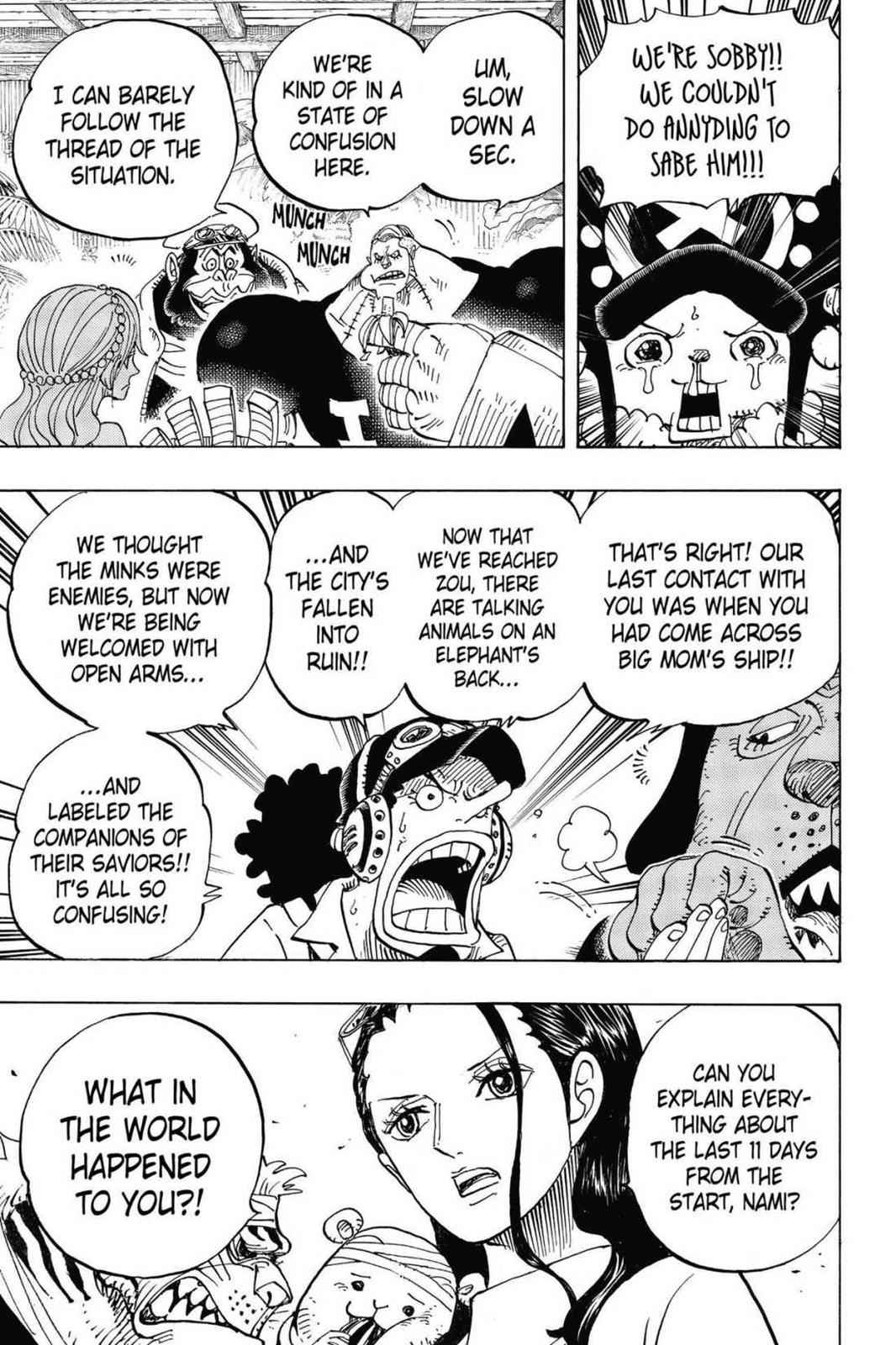 One Piece Chapter 807 Page 12