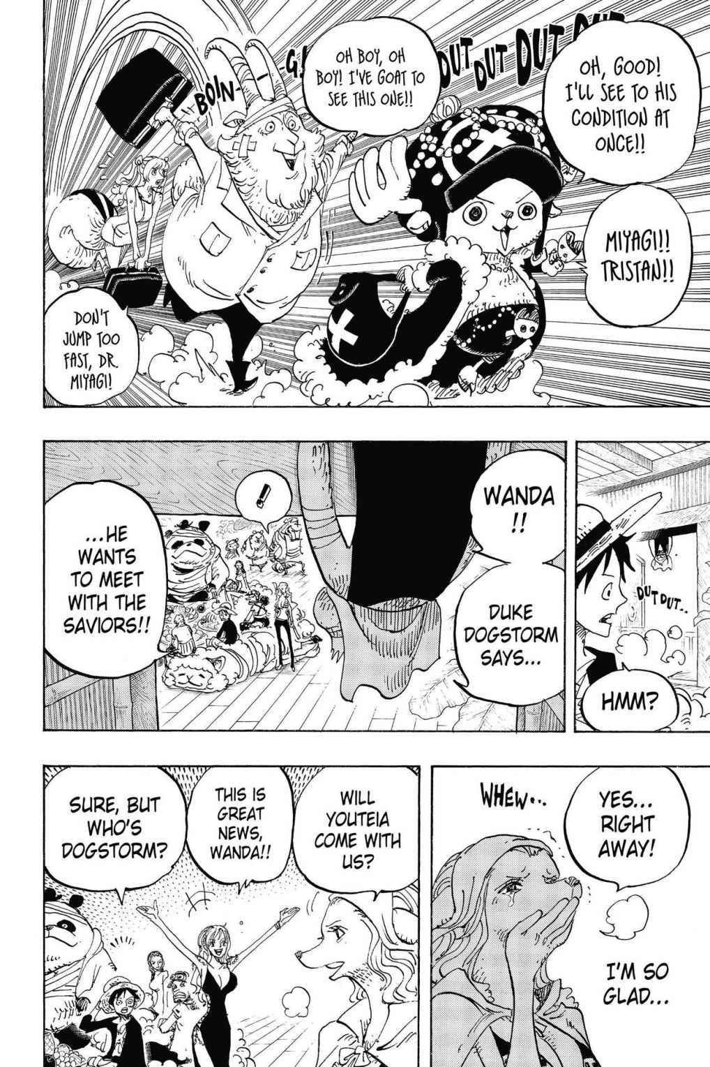 One Piece Chapter 807 Page 19