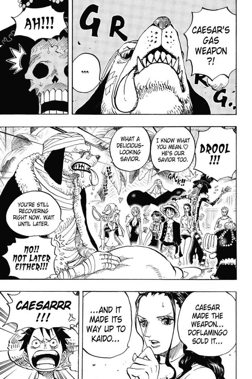 One Piece Chapter 809 Page 3