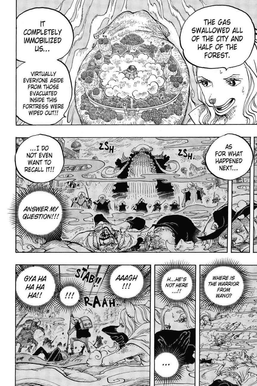 One Piece Chapter 810 Page 8