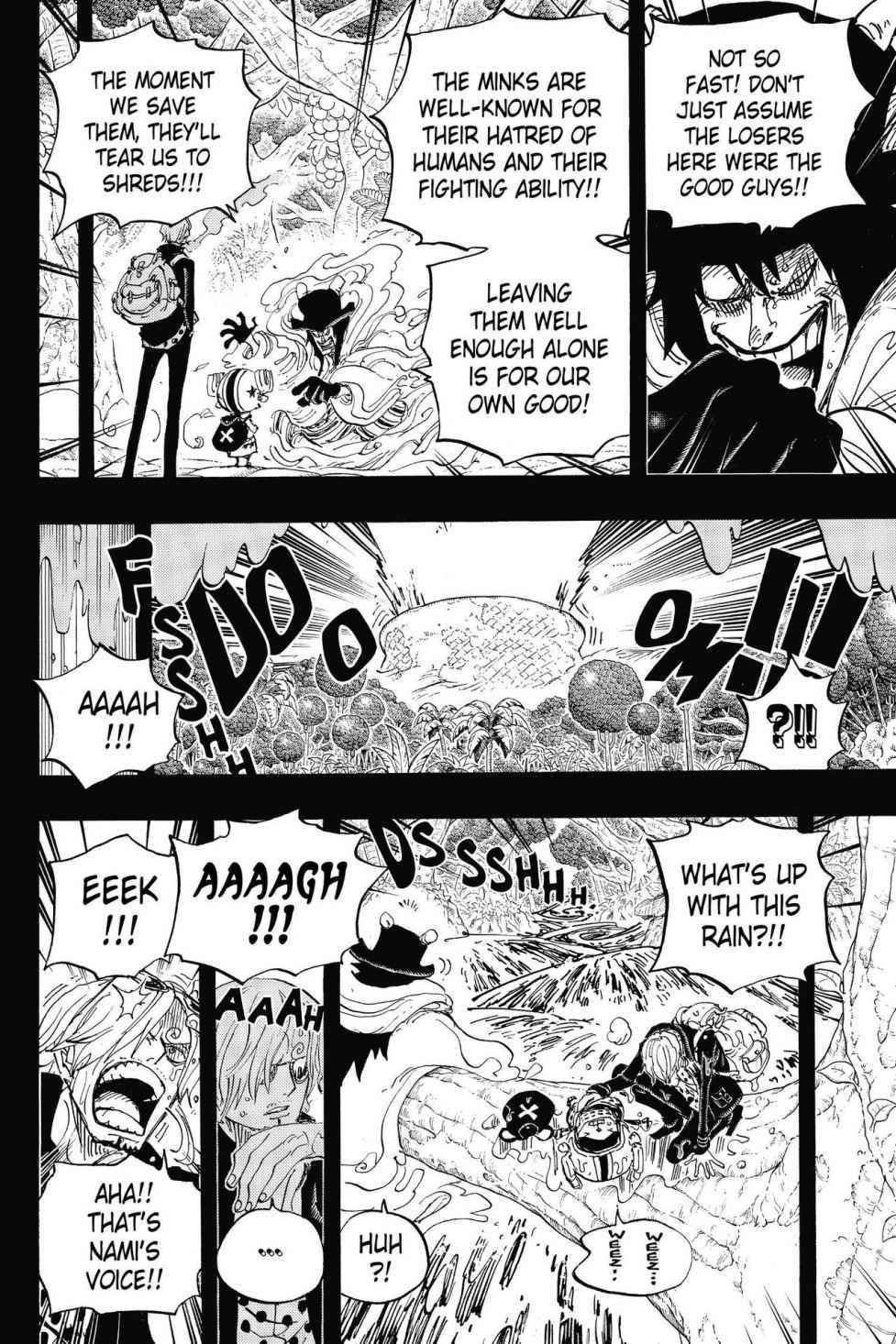 One Piece Chapter 811 Page 4