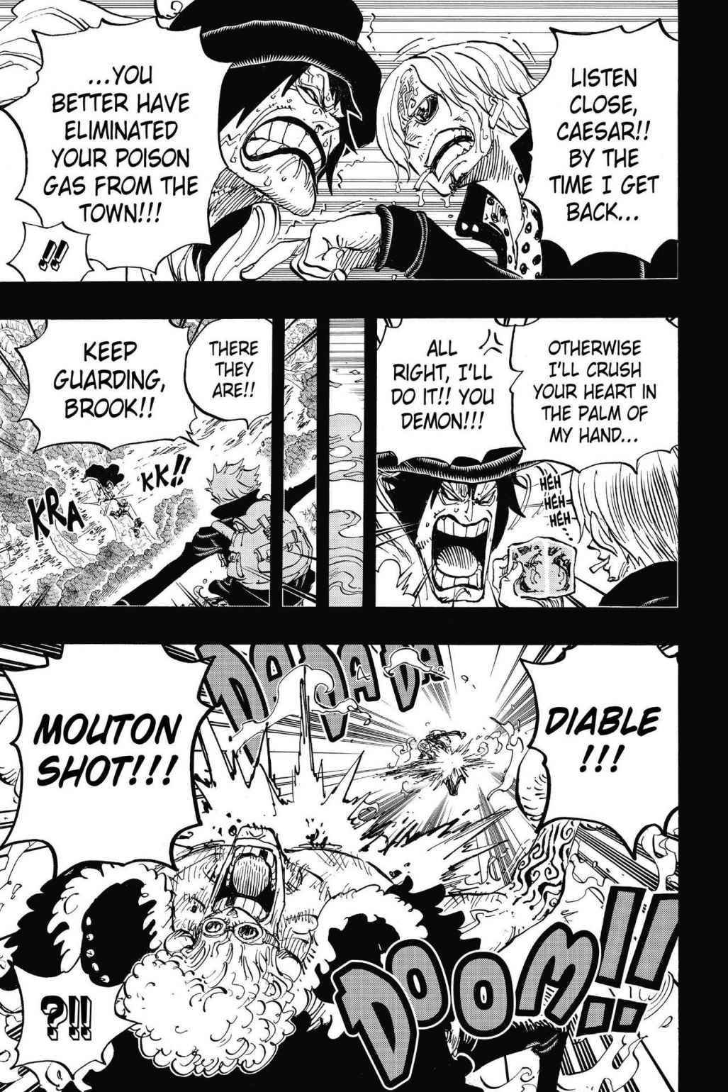One Piece Chapter 811 Page 5