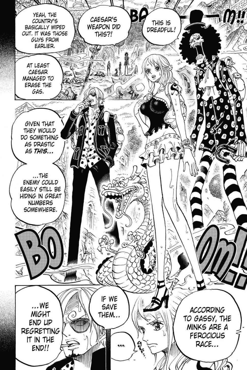 One Piece Chapter 811 Page 8