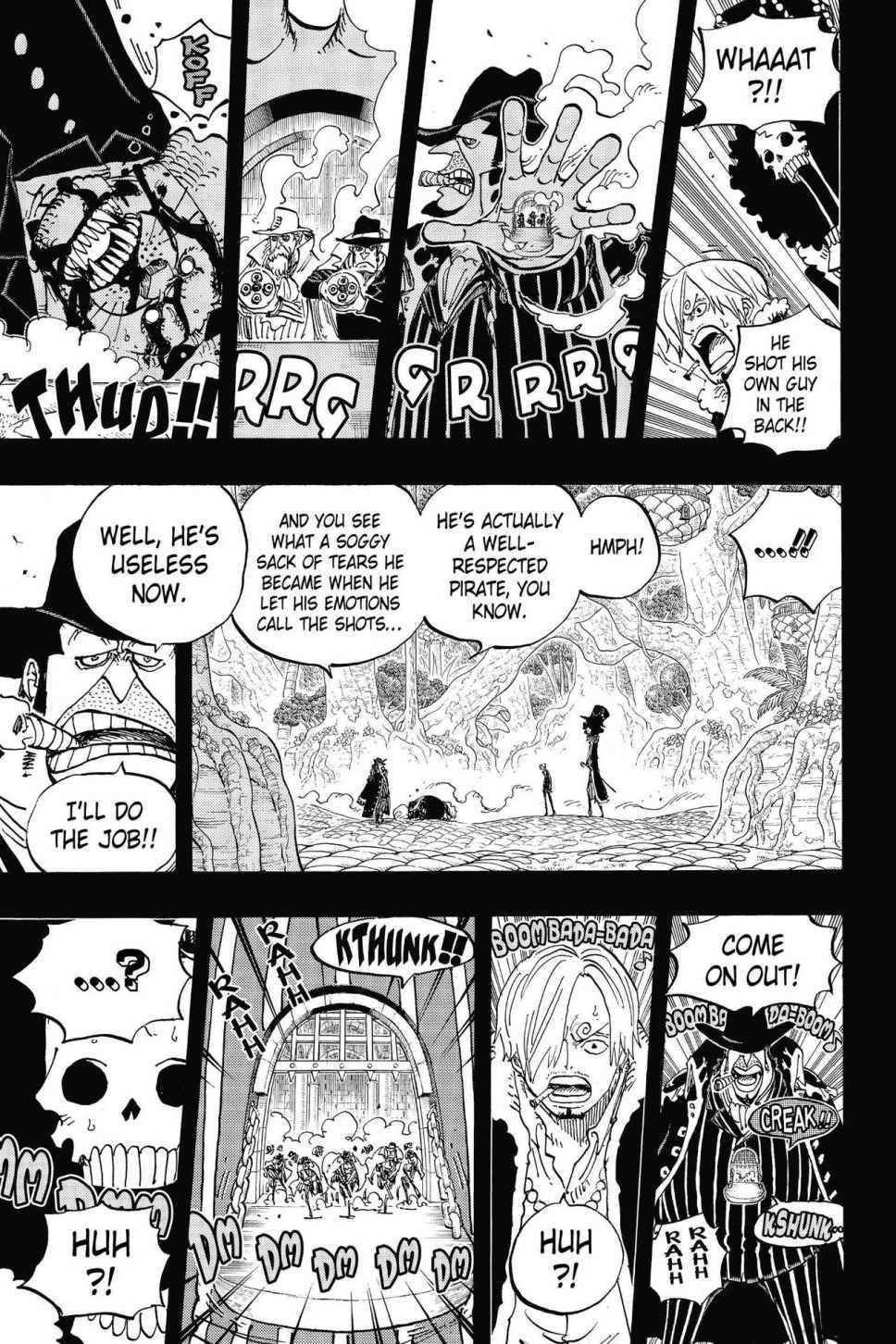 One Piece Chapter 812 Page 11