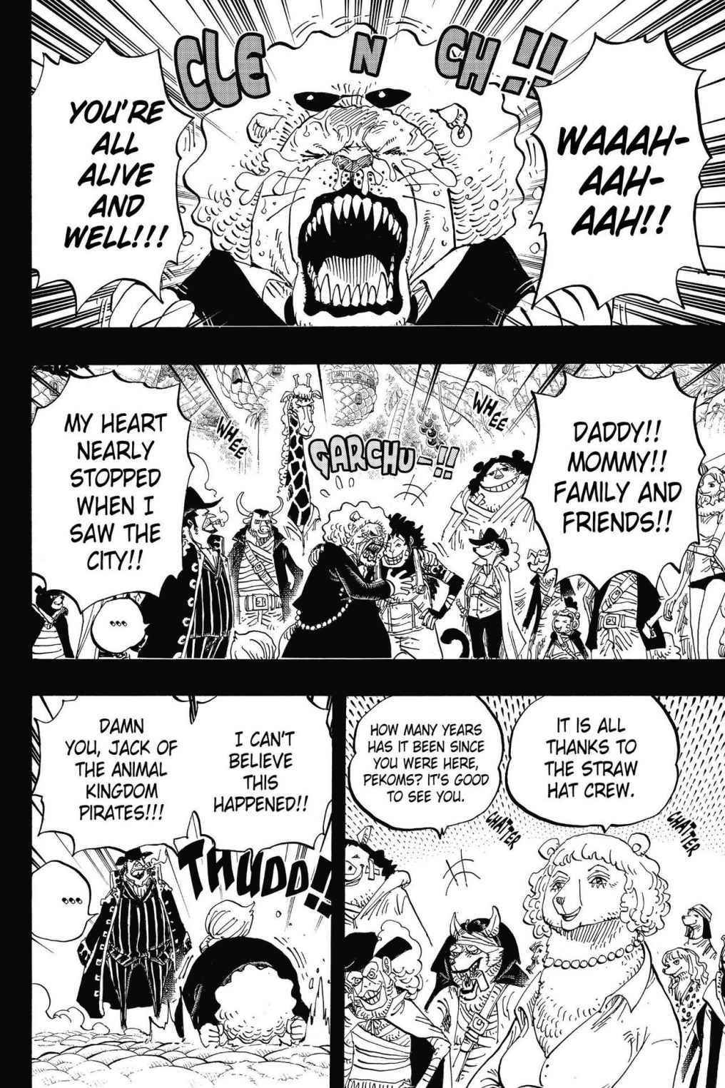 One Piece Chapter 812 Page 6