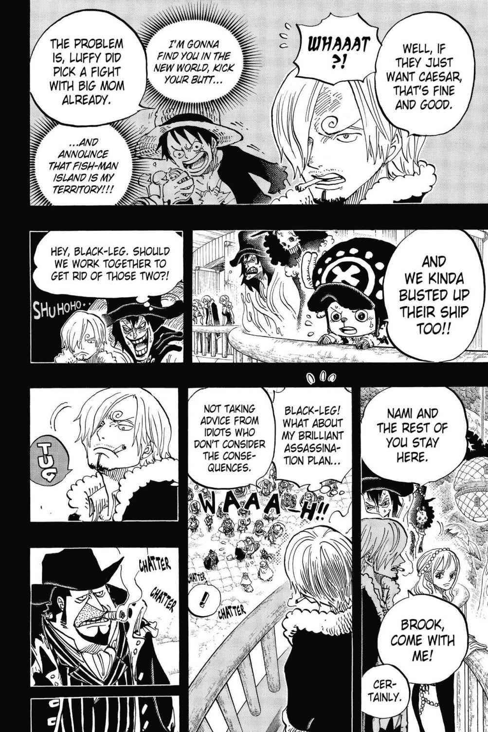 One Piece Chapter 812 Page 8