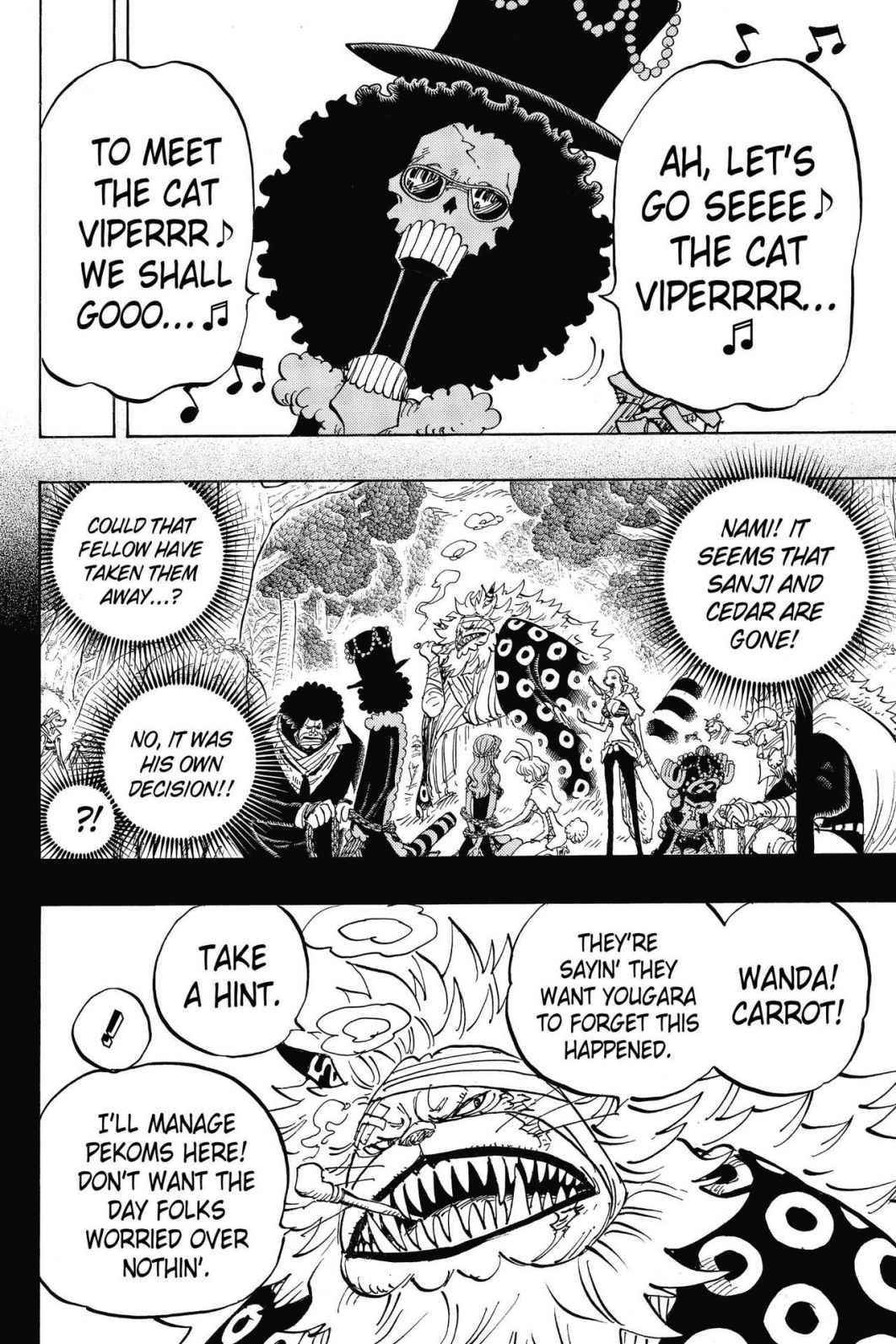 One Piece Chapter 814 Page 2