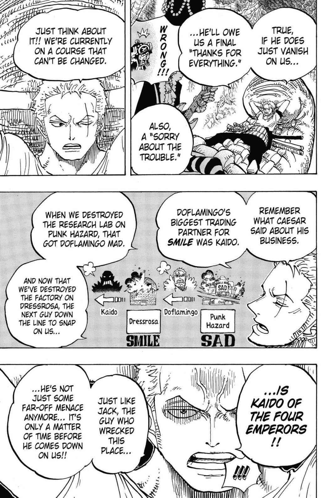 One Piece Chapter 814 Page 7