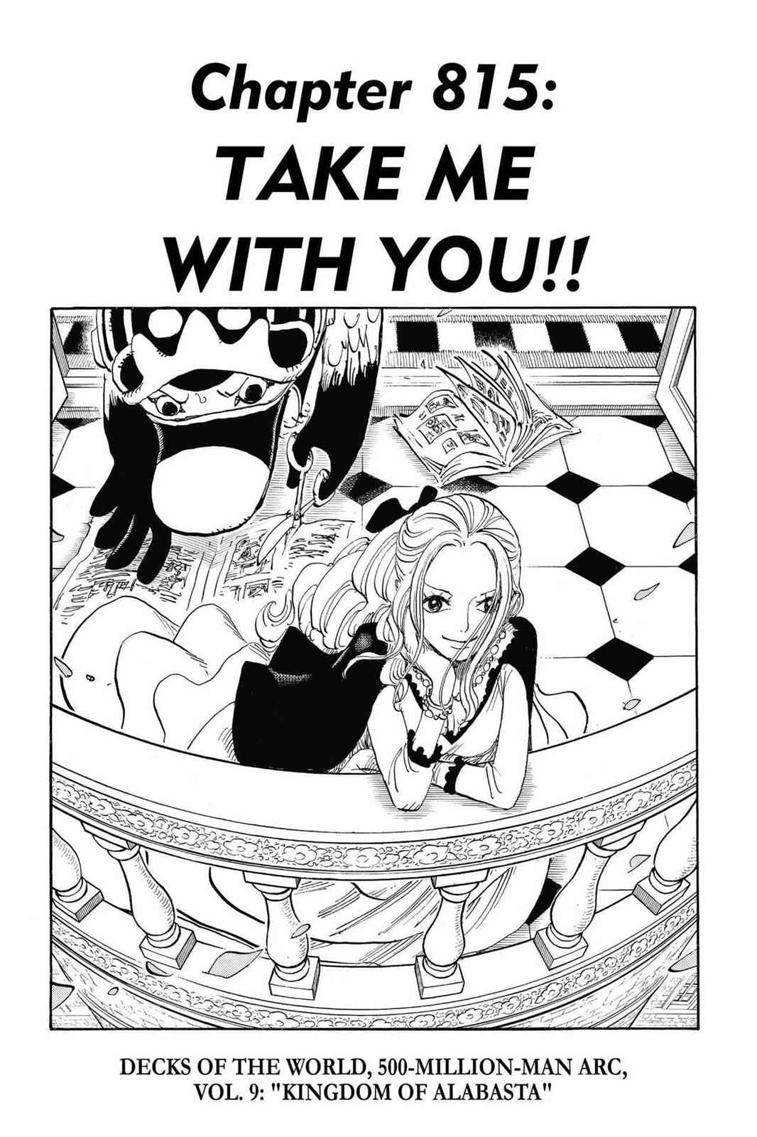 One Piece Chapter 815 Page 1