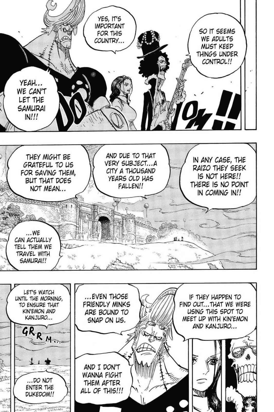 One Piece Chapter 815 Page 15
