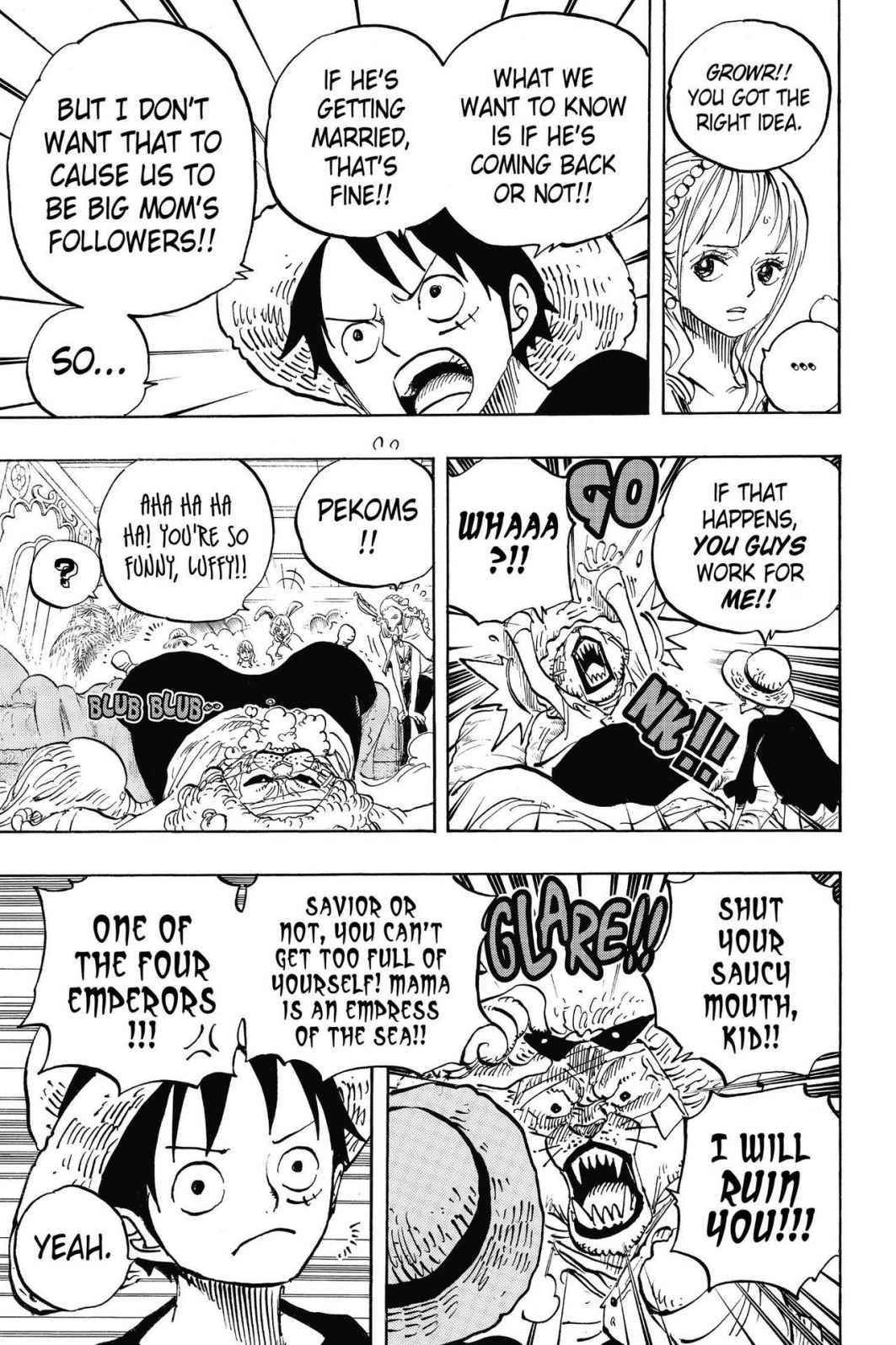 One Piece Chapter 815 Page 3