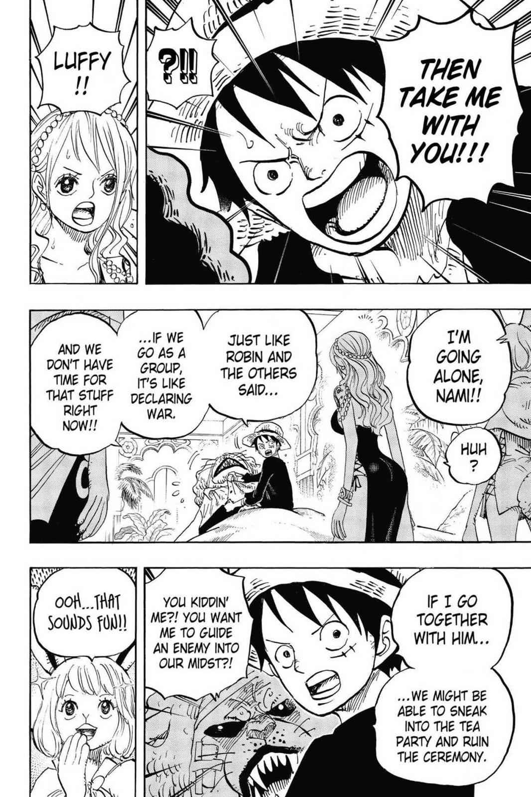 One Piece Chapter 815 Page 8