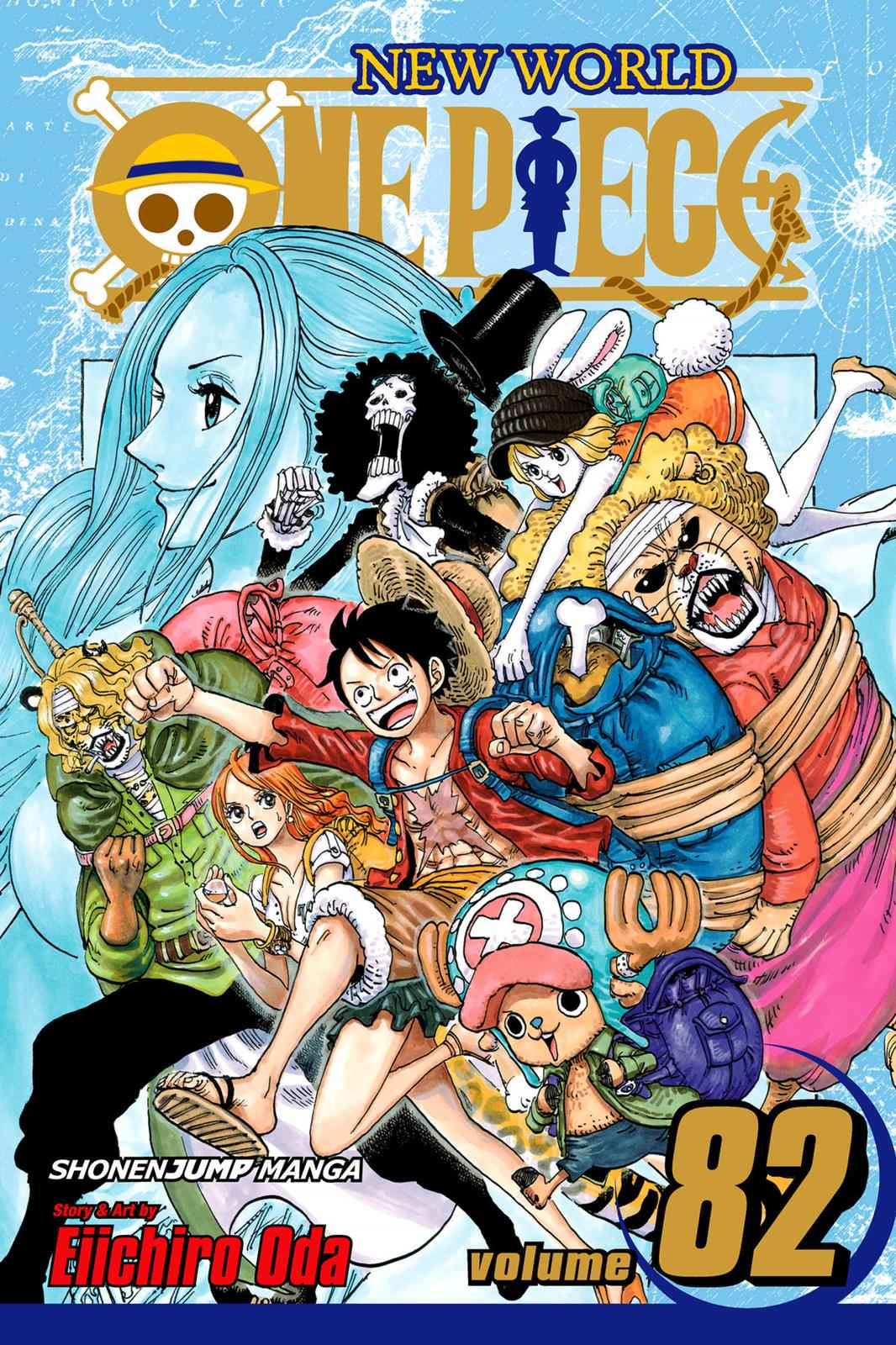 One Piece Chapter 817 Page 1