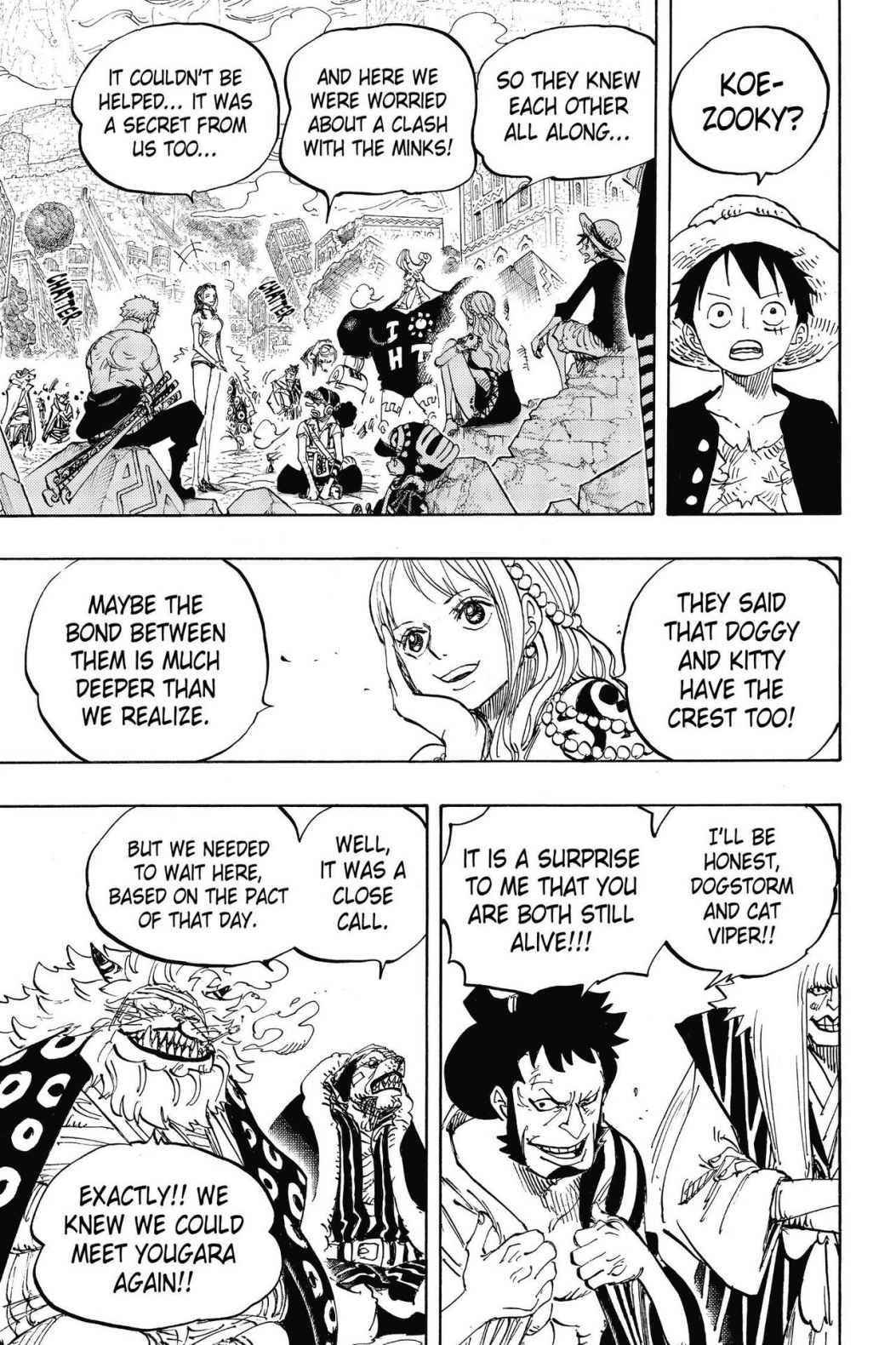 One Piece Chapter 817 Page 12
