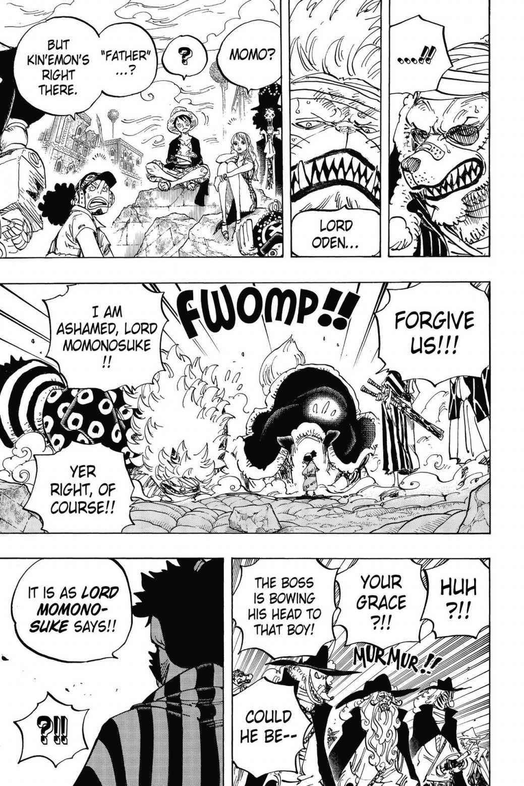 One Piece Chapter 817 Page 14