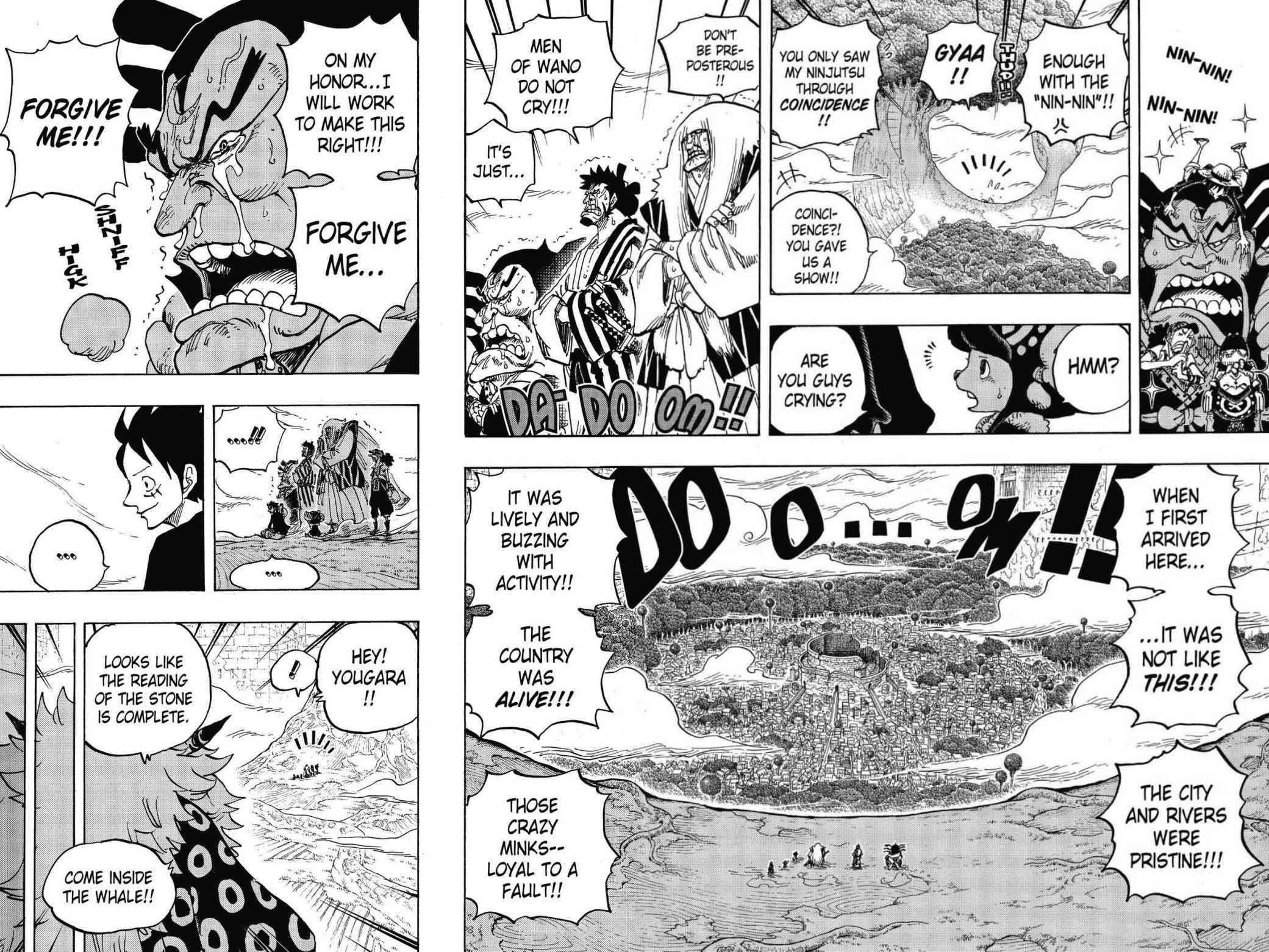 One Piece Chapter 818 Page 2