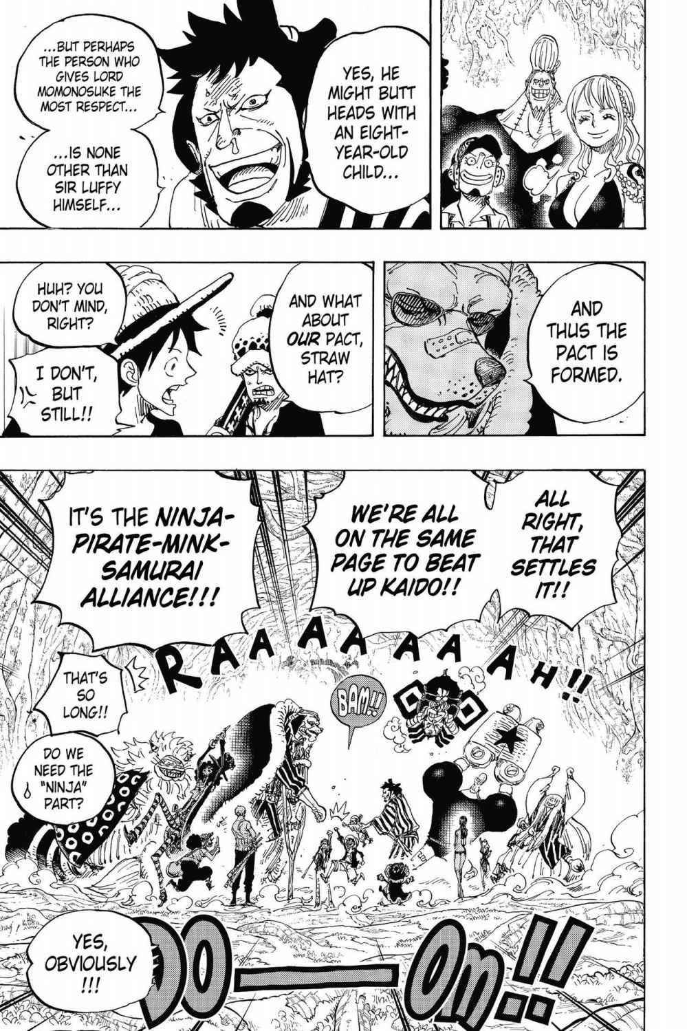 One Piece Chapter 819 Page 13