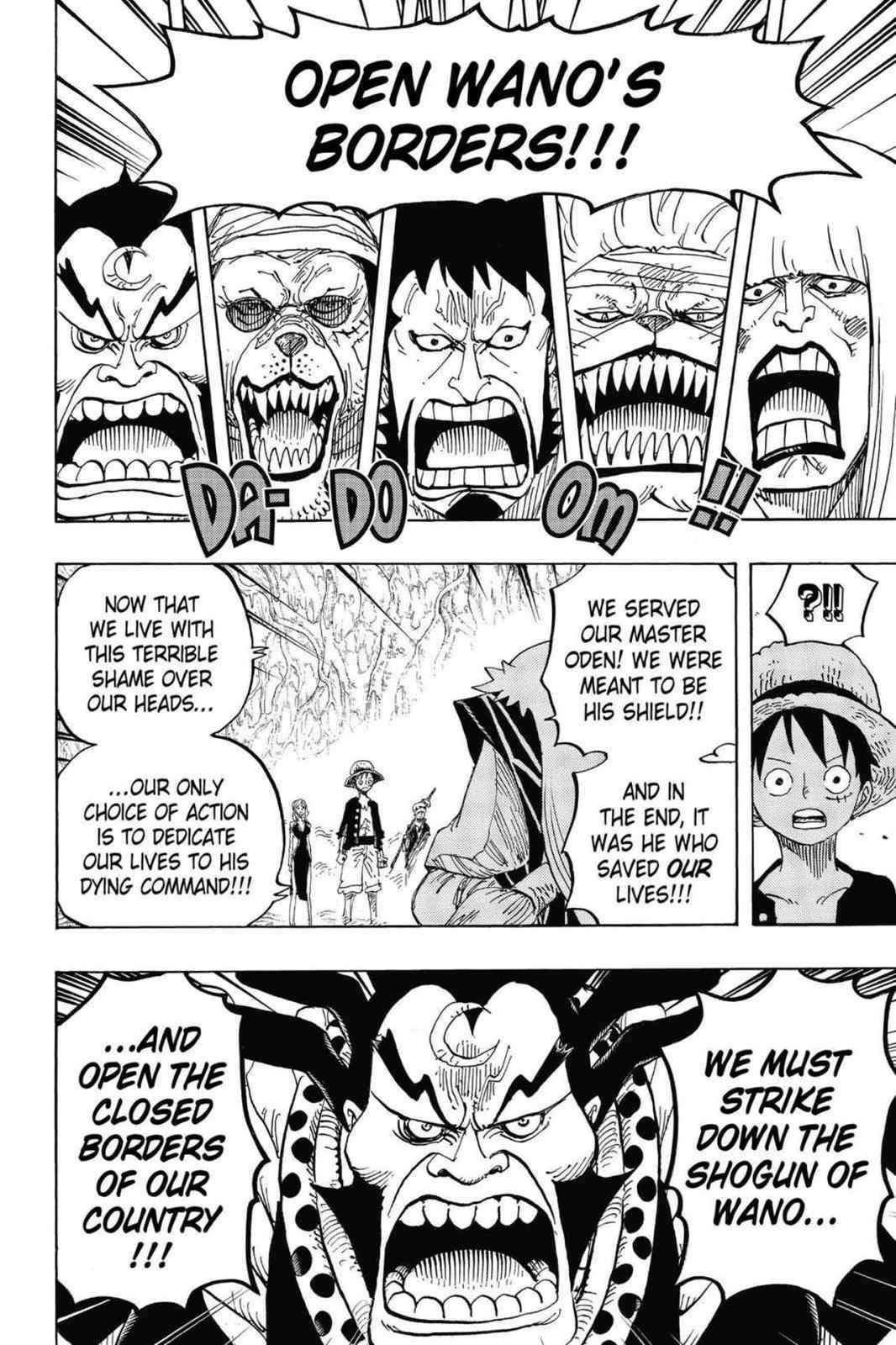 One Piece Chapter 819 Page 4